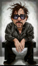 Cartoon: Tim Burton Caricature (small) by Felipe Moreira tagged digital,paint,caricature