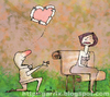 Cartoon: Love (small) by Garrincha tagged gag,cartoon