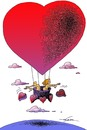 Cartoon: Valentines day (small) by zluetic tagged valentin
