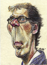 Cartoon: Laurent Blanc (small) by daulle tagged caricature,daulle,sport,france