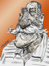 Cartoon: The great Sergio Aragones (small) by daulle tagged caricature daulle drawing aragones