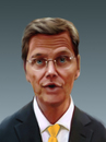 Cartoon: Westerwelle (small) by Sigrid Töpfer tagged politiker,prominente