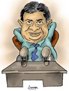 Cartoon: DULEEP MENDIS (small) by denver tagged denver,srilanka