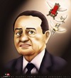 Cartoon: 30 years dream is end... (small) by saadet demir yalcin tagged saadet,sdy,syalcin,turkey,egypt,people,victory,end
