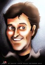 Cartoon: Bruce Campbell (small) by saadet demir yalcin tagged bcampbell,saadet,sdy,syalcin,turkey,portrait