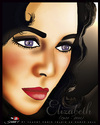 Cartoon: Elizabeth Taylor (small) by saadet demir yalcin tagged saadet,syalcin,sdy,turkey,liztaylor