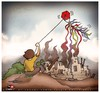 Cartoon: Hope is always - 2 (small) by saadet demir yalcin tagged saadet,sdy,syalcin,turkey,hope,cartoon,child
