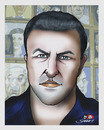 Cartoon: MARIAN AVRAMESCU portrait-2 (small) by saadet demir yalcin tagged mav