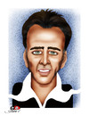 Cartoon: Nicholas Cage (small) by saadet demir yalcin tagged nicholascage salcin sdy