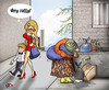 Cartoon: Pretty and Ratty (small) by saadet demir yalcin tagged saadet,sdy,womans