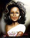 Cartoon: RIP WHITNEY HOUSTON (small) by saadet demir yalcin tagged saadet sdy whitney
