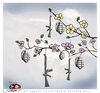 Cartoon: Spring... (small) by saadet demir yalcin tagged saadet,sdy,spring