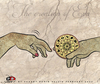 Cartoon: The creation of  Eva (small) by saadet demir yalcin tagged saadet,sdy,eva,horoskop,hands