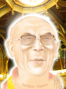 Cartoon: DALAI LAMA (small) by T-BOY tagged dalai lama