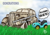 Cartoon: GENERATIONS (small) by T-BOY tagged generations