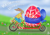 Cartoon: HAPPY EASTER  2018 (small) by T-BOY tagged happy,easter,2018