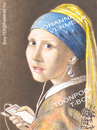 Cartoon: JOHANNES VERMEER 1 (small) by T-BOY tagged johannes,vermeer