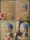 Cartoon: JOHANNES VERMEER (small) by T-BOY tagged johannes,vermeer