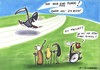 Cartoon: . (small) by LA RAZZIA tagged tod,death,old,people,granny,oma,opa,wheel,chair