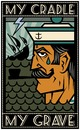 Cartoon: poster for my friends (small) by Braga76 tagged sailor,ship,death