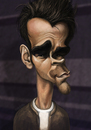 Cartoon: Colin Farrell (small) by K E M O tagged colin,farrell,by,kemo,caricature,actor