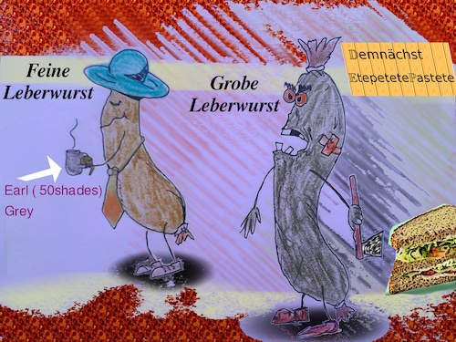 Cartoon: nicht alles wurscht (medium) by wheelman tagged essen,wurst,lebensmittel