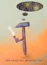 Cartoon: wochenend (small) by wheelman tagged fraih,zeit,hammer