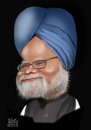 Cartoon: Manmohan Singh (small) by geomateo tagged prime,minister,politics,manmohan,singh,india