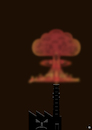 Cartoon: pollution (small) by gulekk tagged environment,pollution,factory,mushroom,cloud,poison,atomic,bomb
