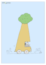 Cartoon: BAUMAUTO (small) by Nick Blitzgarden tagged wald,auto,naturschutz,umweltschutz,wood,car,natur,nature,polution,umweltverschmutzung,cartoon,nick,blitzgarden