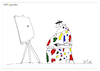 Cartoon: KUNST! (small) by Nick Blitzgarden tagged kunst,maler,farben,art,cartoon,nick,blitzgarden
