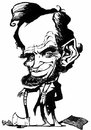 Cartoon: Abe Lincoln (small) by stieglitz tagged abraham,lincoln,karikatur,caricature,caricatura