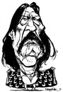 Cartoon: Danny Trejo (small) by stieglitz tagged danny,trejo,machete,karikatur,caricature