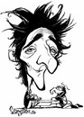 Cartoon: The Pianist (small) by stieglitz tagged adrien,brody,karikatur,caricature,caricatura,daniel,stieglitz