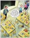 Cartoon: Schulprobleme (small) by Gebhard tagged schule,