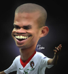 Cartoon: Pepe (small) by Quidebie tagged pepe,real,madrid,soccer,voetbal,caricature,karikatuur,fun,funny