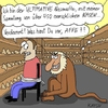 Cartoon: Nasenaffe (small) by KAYSN tagged nasenaffe,nase,sammlung
