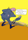Cartoon: Widerwort (small) by sobecartoons tagged vorgesetzter,militär,drill,kasernenhof,soldat