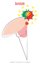 Cartoon: Covid-19 (small) by jose sarmento tagged covid19