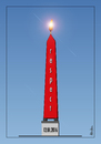 Cartoon: Respect-12.01.2016 (small) by Atilla Atala tagged sultanahmet,terror,turkey,respect,istanbul,obelisk,terrorism,international