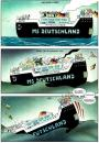 Cartoon: MS Deutschland (small) by Pohlenz tagged deutschland allemagne germany