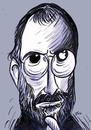Cartoon: steve jobs  died (small) by oguzgurel tagged portre