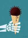 Cartoon: Bad icecream (small) by alexfalcocartoons tagged pandemic