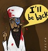 Cartoon: Bin Laden terminator (small) by alexfalcocartoons tagged binladenterminator
