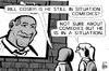 Cartoon: Bill Cosby situation (small) by sinann tagged bill,cosby,comedy,rape,allegations,situation