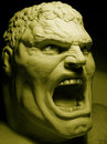 Cartoon: ANGRY ! (small) by ALEX gb tagged hulk,sculpture,comic,books,photo,movies