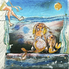 Cartoon: Mermaid (small) by taravat niki tagged mermaid