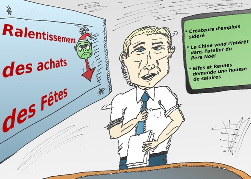 Cartoon: achats des fetes en caricature (medium) by BinaryOptions tagged caricature,dessin,comique,option,binaire,options,binaires,optionsclick,trader,tradez,trading,economie,economique,news,nouvelles,infos,actualites,shopping,fetes,achats