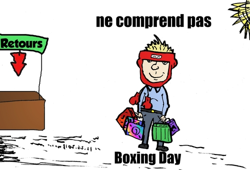 Cartoon: Boxing Day webcomic (medium) by BinaryOptions tagged tradition,boxing,change,vacances,retour,trader,cartoon,webcomic,trading,binaire,comique,options,echanges,nouvelles,financieres,redaction,affaires,optionsclick