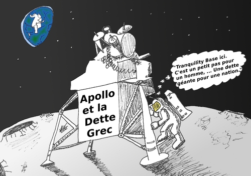 Cartoon: Caricature de Neil ARMSTRONG (medium) by BinaryOptions tagged neil,armstrong,astronaute,nasa,lune,apollo,dette,grec,options,binaires,news,infos,nouvelles,caricature,financier,boursier,optionsclick,option,binaire,trading,trader,tradez,comique,comics